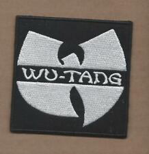 New 3 Inch Black Wu-Tang Iron On Patch Free Shipping