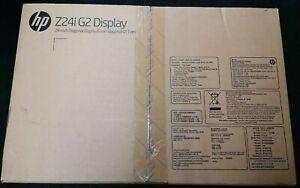 "HP Z24i G2 24"" LED-Backlit LCD Monitor, 16:10 1920x1200 (1JS08A4#ABB)"