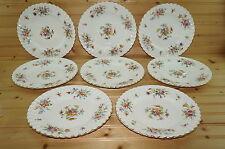 "Minton Marlow (8) Luncheon Plates, 9"""