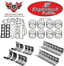 ENGINETECH OLDSMOBILE 307 5.0 RE RING REBUILD KIT WITH MAIN BEARINGS 1980 - 1990