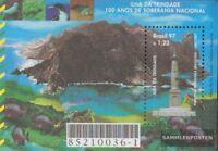 Brasilien Block106 (kompl.Ausg.) postfrisch 1997 Souveränität Insel Trindade