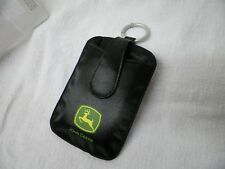 JOHN DEERE mp3 Player Case Belt Clip Ring NIP Padded Satin Pouch Magnetic