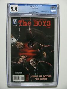The Boys #1 - CGC 9.4 - Garth Ennis