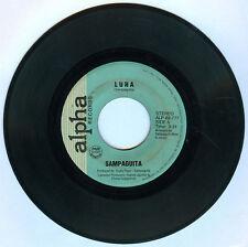 Philippines SAMPAGUITA Luha OPM 45 rpm Record