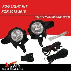 OEM Style Complete Fog Light Kit fits Toyota RAV4 2013-2015