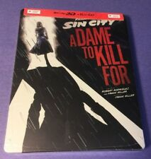 Sin City A Dame to Kill For  [ STEELBOOK Edition ] (Blu-ray + 3D Combo) NEW