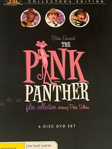 The Pink Panther Film Collection 6-Disc Set DVD  Collector's Edition Like New