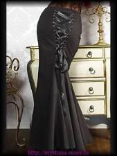 Unifarbene schwingende knielange Damenröcke