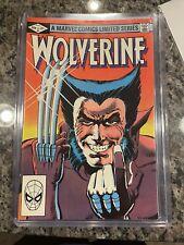 WOLVERINE #1 Limited Series 1982 Frank Miller Super Clean!