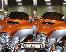 "Harley Davidson FLHT Convertible Baggershield Windshield 8""-14"" 2014-present"
