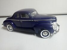 Universal Hobbies 1940 Ford Deluxe 1:18 Rare Collectible Barn Find