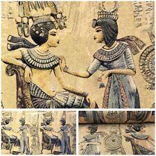 """Deko Möbel Stoff """" Ägypten Pharao """" Gobelin Kissen Tapete Teppich Überwurf"""
