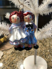 Rare Polonaise Raggedy Ann & Andy Together Ornament