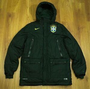 Brazil Player issue 2016 Training/Travel Padded Winter Jacket size Mens Large