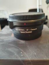 Metabones Canon EF to Emount T Speed Booster 0.71x Focal reducer