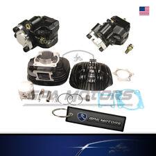 Brake Caliper Pads & Rebuild Cylinder KIT fit Yamaha Blaster YFS200 03-06