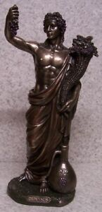 Figurine Statue Ancient Greece Dionysus God of wine making NEW with gift box