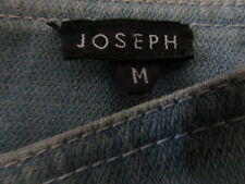 'JOSEPH' DESIGNER TROUSERS,  BEIGE SUEDE/LEATHER. MADE IN ITALY. SIZE M. VGC