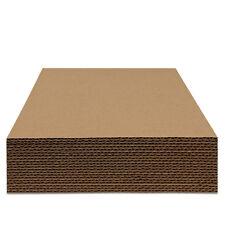 50 St. Schallplatten Versand Füllplatten, Wellpappe, 315x315 mm, 3 mm Stark