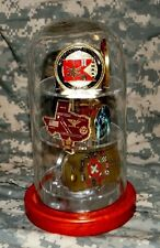 SMALL Glass Challenge Coin Holder Dome Case Display Military 12 Coins NEW CUSTOM