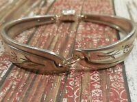 Petal Lane - 1959 Vintage Silver Plated Silverware/Flatware Spoon Bracelet