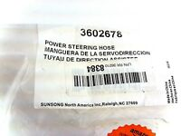 Power Steering Return Line Hose Assembly Sunsong North America 3602678
