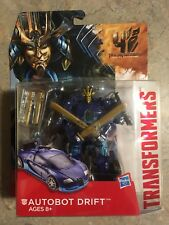 Transformers Age Of Extinction Deluxe Autobot Drift NIB