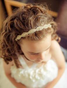 Bridal Headband Flowergirl Headband Rhinestone Crystal Headband Bling Headband