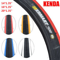 KENDA Clincher Tire 14/16/20*1.35 inch 60TPI 85PSI BMX Bicycle Tires Flimsy Tyre