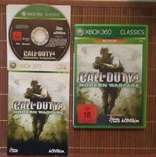 X360/Xbox Spiel - Call of Duty 4:Modern Warfare (Classics)(mit OVP)(USK18)(PAL)