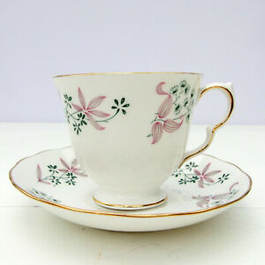 Vintage Colclough Adam Bone China Tea Cup Saucer
