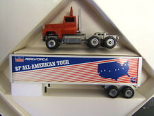 Winross Ford Aeromax 87 All-American Tour Tractor Trailer 1/64 Diecast MIB