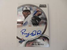 2011 Bowman Sterling Auto Of Dodger Rubby De La Rosa
