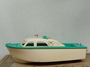 Vintage 1960's Fleet Line Plastic Toy Boat AS IS