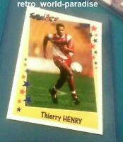 Panini Thierry Henry 1998 Monaco rookie France psa 10 ? Rare NEW Superfoot 98 99
