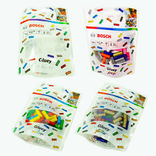 Bosch Gluey Klebesticks, 70 Stück, Transparent | Bunt | Glitter, 7 x 20 mm