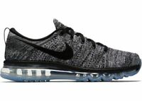 Nike Flyknit Max 620469 105 Oreo Running Sneakers Trainers Mens US 11 UK 10