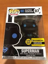 Justice League - Superman Silhouette Glow Funko Pop Vinyl (GITD EE Exclusive)