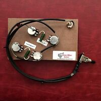 Prewired Guitar Wiring Upgrade Harness PIO Caps Fits Gibson Epiphone ES175 ES295