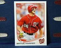 Bryce Harper RC 2013 Topps All-Star Rookie Cup Mini #1 Washington Nationals