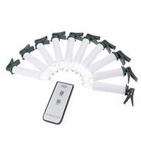 LUMICON 10pcs Flicker LED Flameless with Remote Candle Light