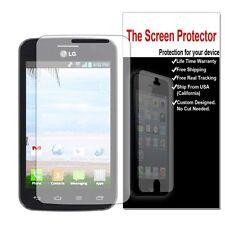 8x Screen Protector Film Saver for LG Optimus Dynamic II 2 L39C 100% HD Clear