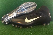 Nike Vapor Untouchable 2 Football Cleats 824470-002 Black Silver Men's Sz 14 New