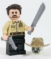 WALKING DEAD TV SERIES MICHONNE FIGURE LIKE MINIFIGURE LEGO NEW USA SELLER