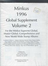 UNUSED NEW MINKUS 1996 GLOBAL SUPPLEMENT VOLUME 2
