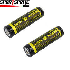 2pcs XTAR 14500 800mAh 3.7V Protected Rechargeable Li-ion Battery for Torch LED
