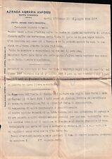 LETTERA SCRITTA DA BASTIA D'ALBENGA NEL 1934 PER ONZO FASCIO DI ONZO C10-823