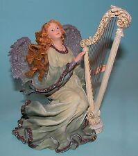 "Boyds Bears Charming Angel ""Aria Guardian of Harmony"" #28226 Nib 2002 harp"