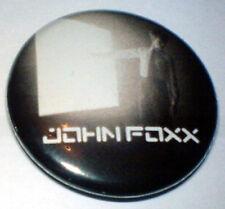 John Foxx (Metamatic) Touching Light 25mm Pin Badge JFT