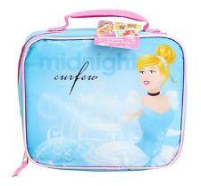 1 Disney Princess Cinderella Midnight Curfew Lunch Bag Teal & Pink